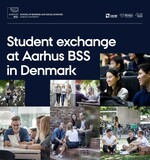 A brochure about student exchange at Aarhus BSS