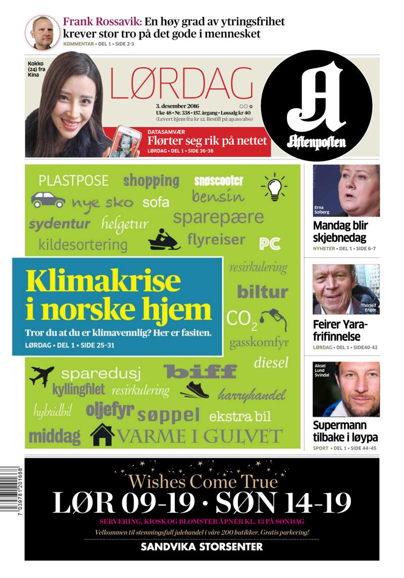 Aftenposten - 03-12-2016