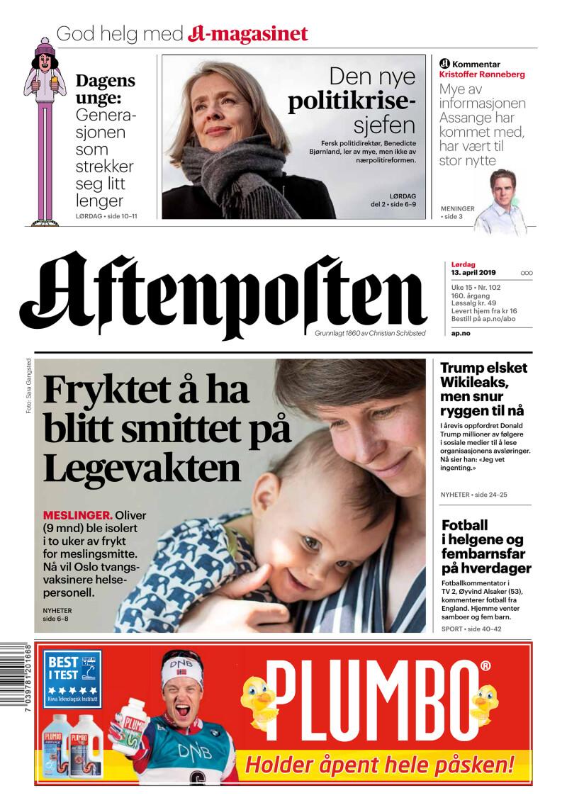 Aftenposten - 13-04-2019