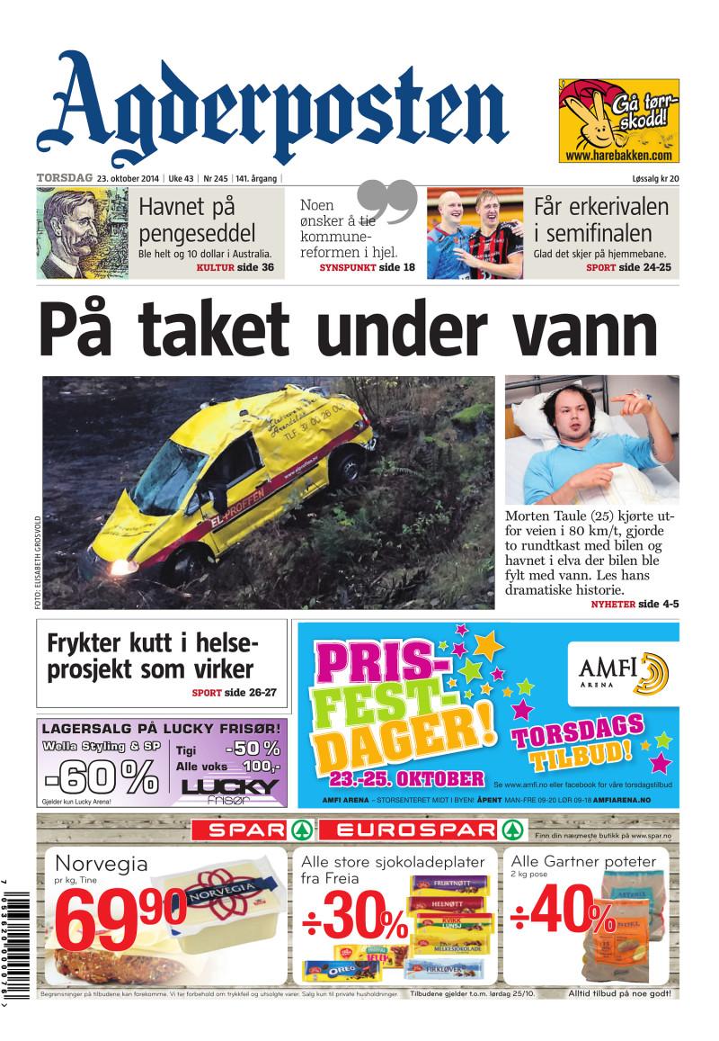 Agderposten - 2014-10-23