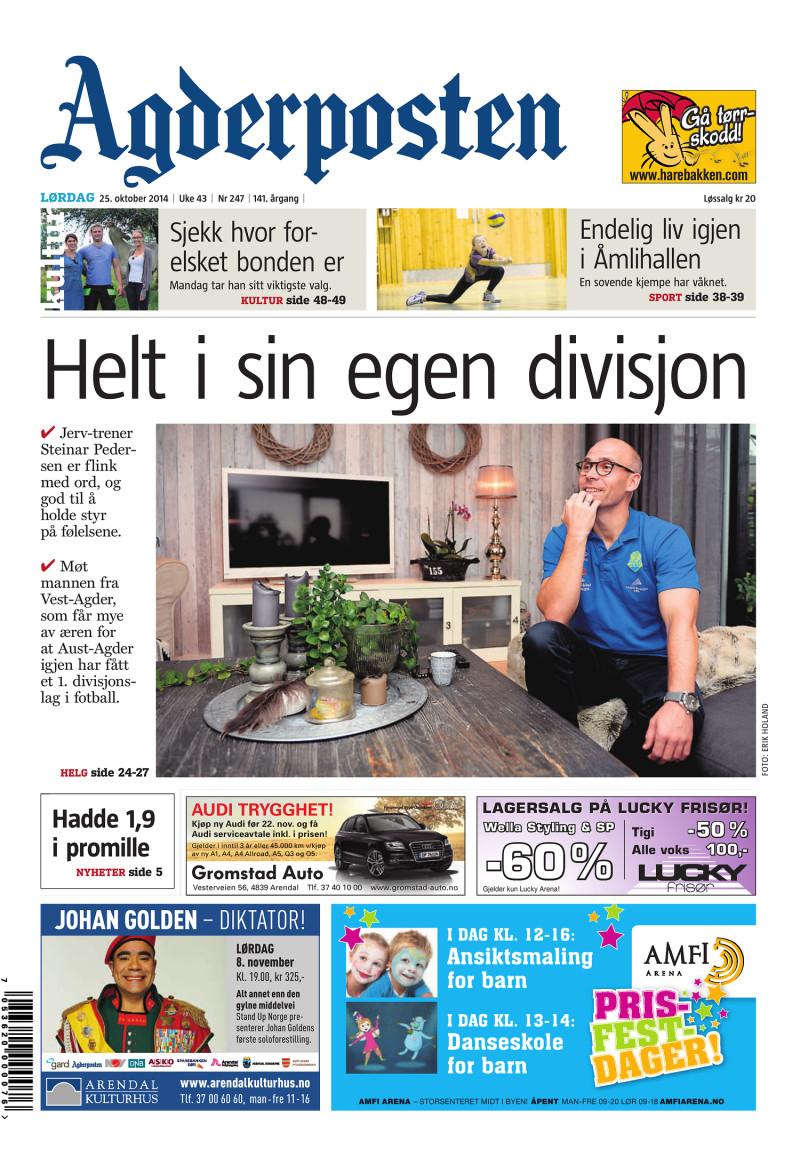Agderposten - 2014-10-25
