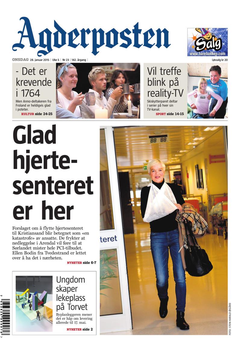 Agderposten - 2015-01-28