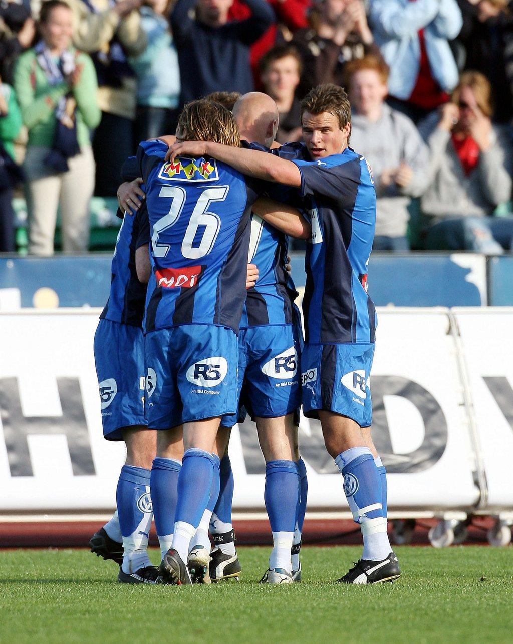 GULLÅR: Henning Hauger spilte for Stabæk i gullårene og tok blant annet seriegull i 2008. FOTO: EVA GROVEN