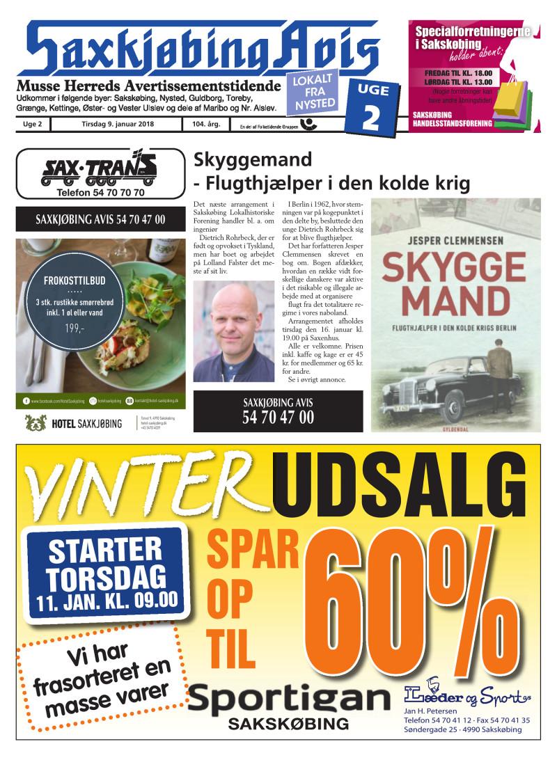 saxkjøbing avis