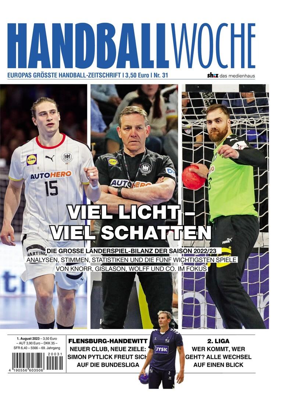 HANDBALLWOCHE - Aktuelle Ausgabe