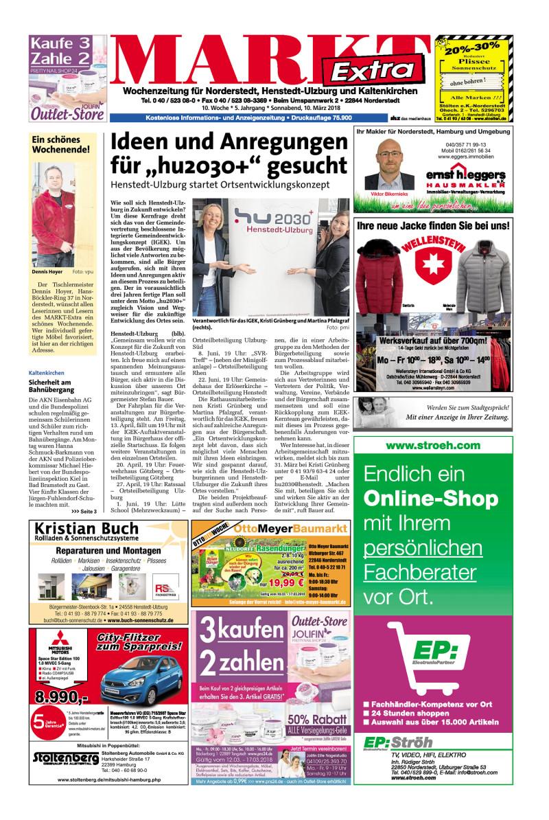 Wochenzeitung für Norderstedt, Henstedt-Ulzburg und Kaltenkirchen ...
