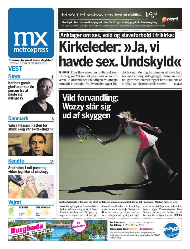 ekstra bladet side plenti fri data