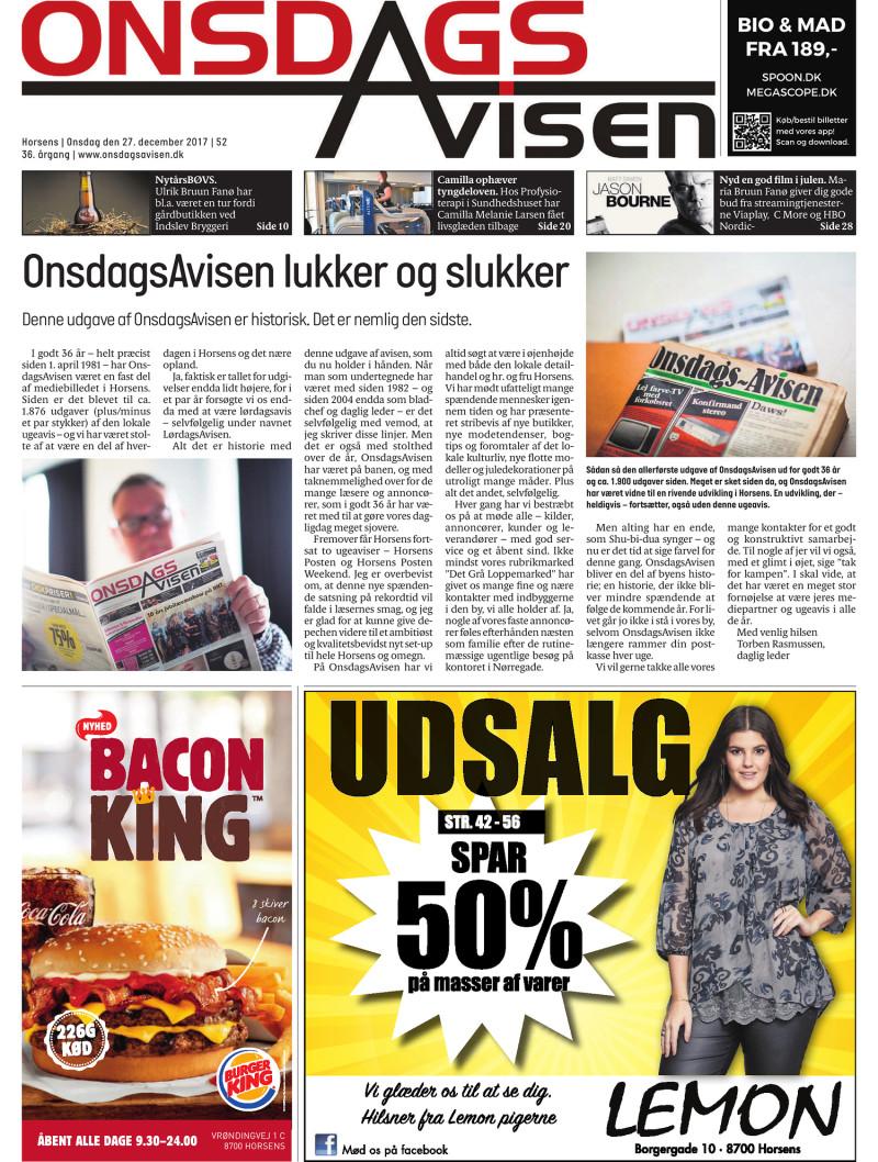 onsdags avisen horsens