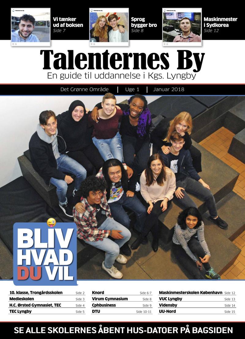 Talenternes By 2018