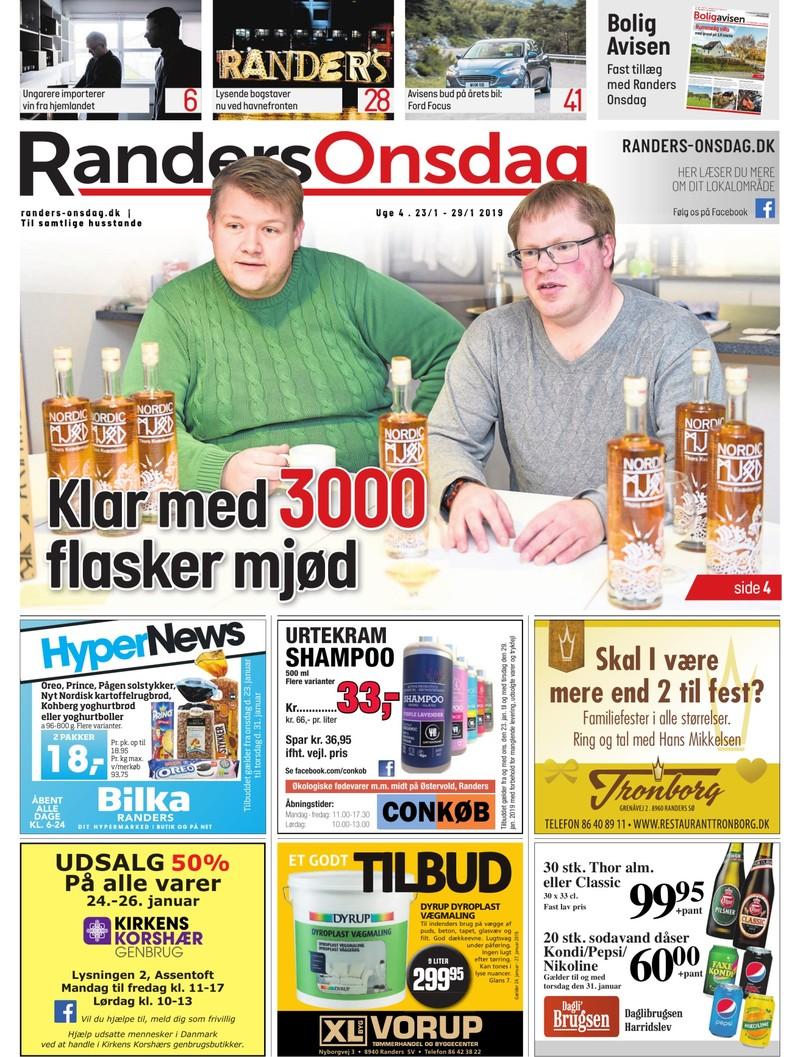 Randers Onsdag Uge 04