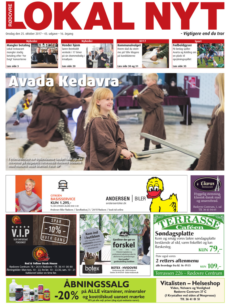Rodovre Lokal Nyt 2017 10 25