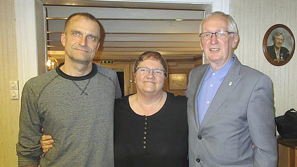 Topp-trio: Thore Håland er listekandidat nummer to. Liv J. Rennan topper listen, mens rutinerte Roald A. Lende står som nummer tre. Foto: Privat