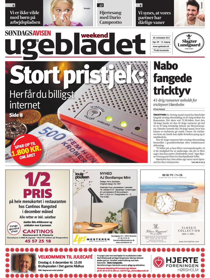 lokalavisen dk ugebladet weekend uge 48