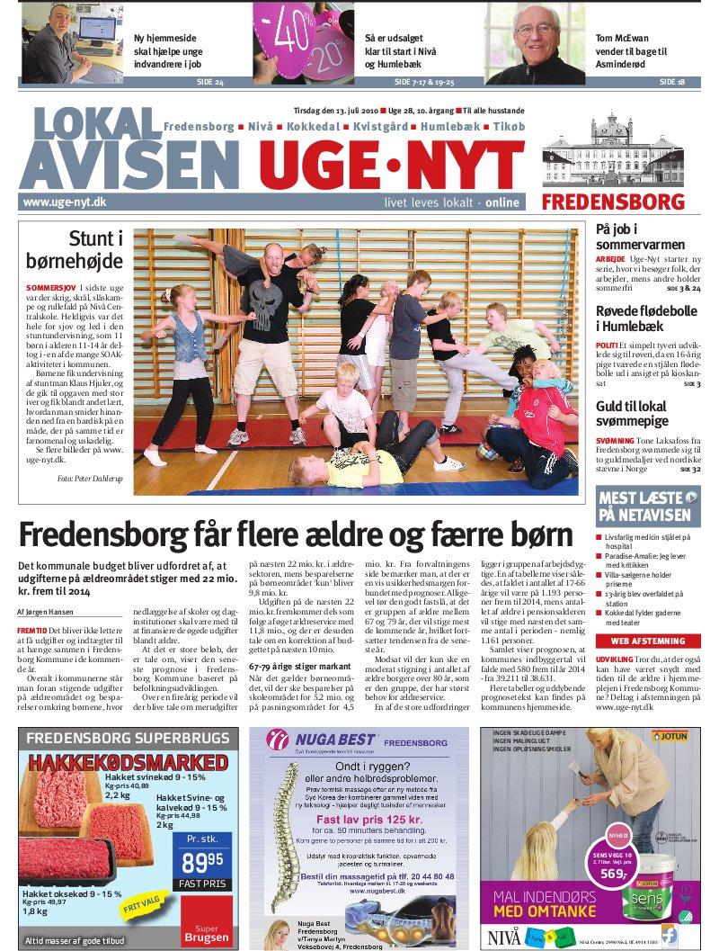 lokal avisen fredensborg