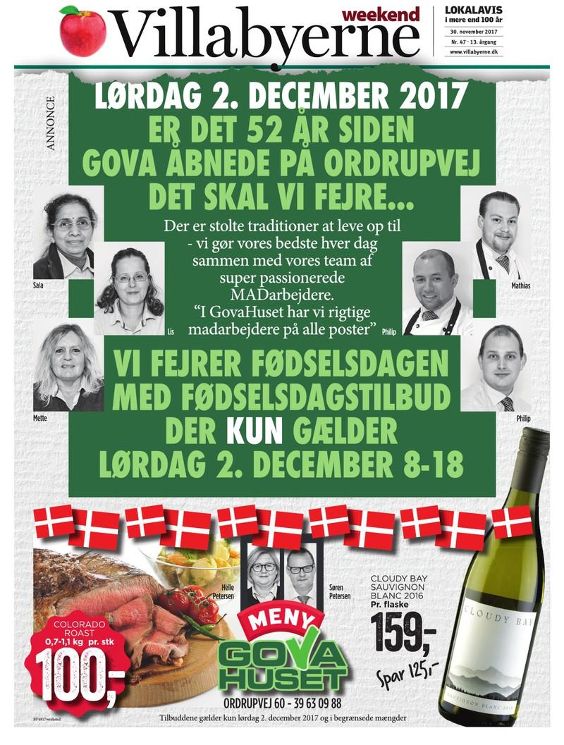 lokalavisen dk villabyerne weekend uge 48