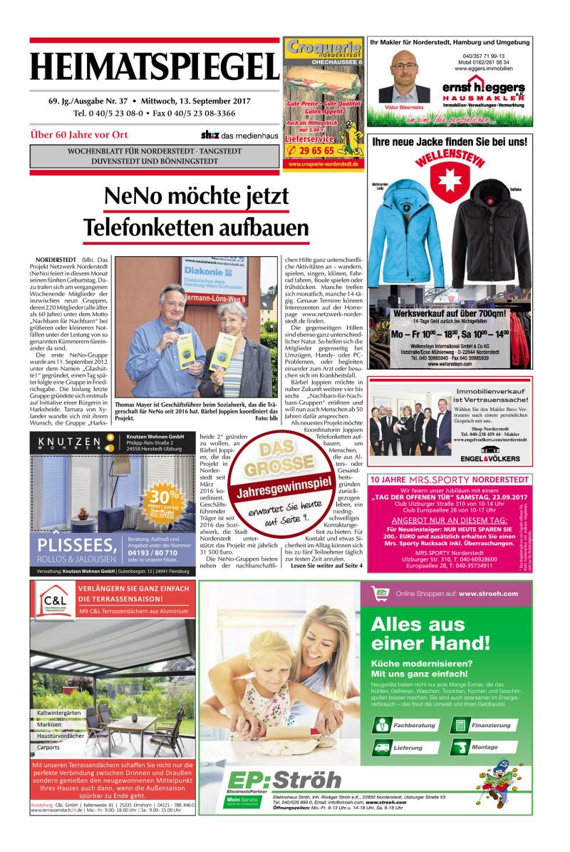 Heimatspiegel 13.09.2017