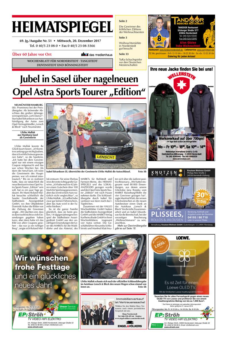 Heimatspiegel - 20.12.2017