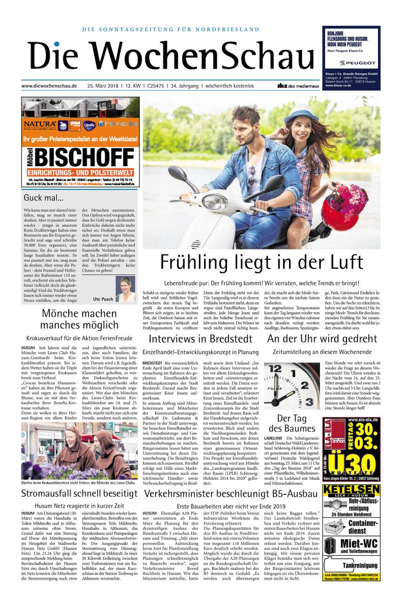 Wochenschau Nordfriesland - 24.03.2018