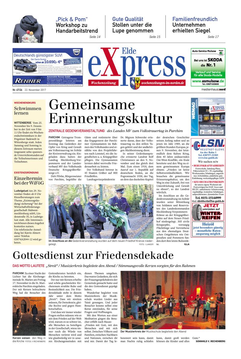 Elde Express 22112017