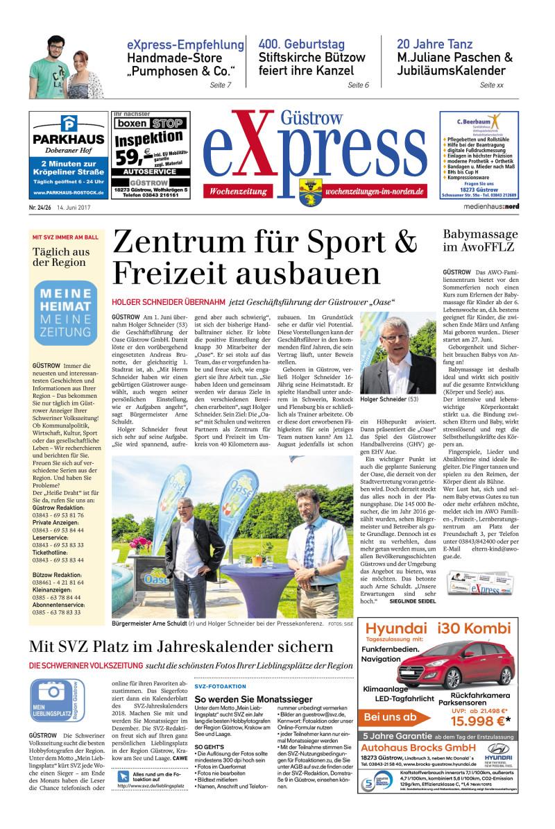 Diakonie Güstrow Küche | Gustrow Express 14 06 2017