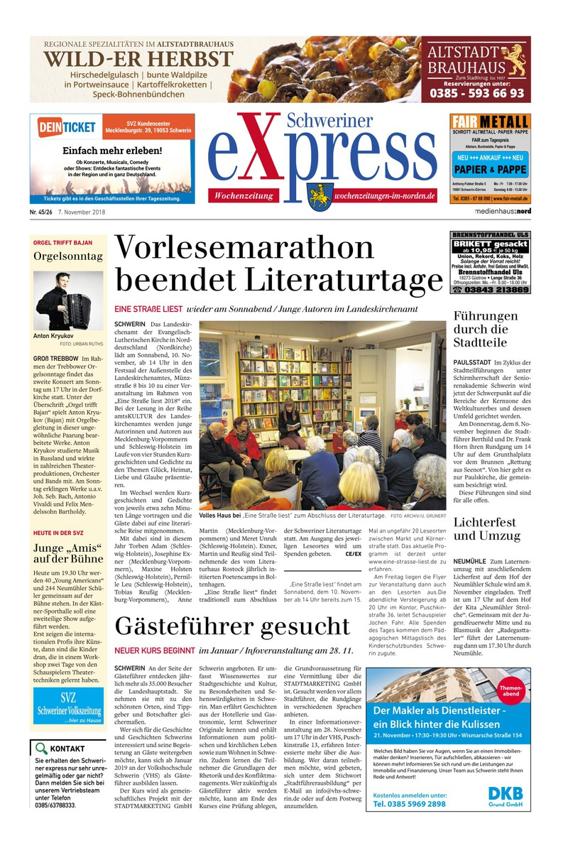 Schweriner Express 07112018