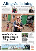 Förstasida Alingsås Tidning