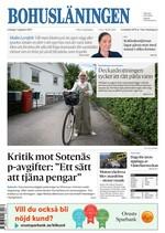 Förstasida Bohusläningen