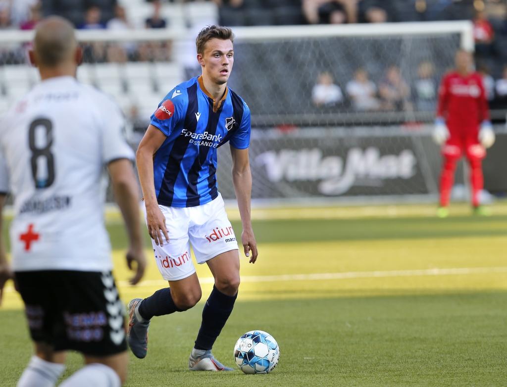 Emil Bohinen er sentralt på midtbanen til eliteserielaget til Stabæk.