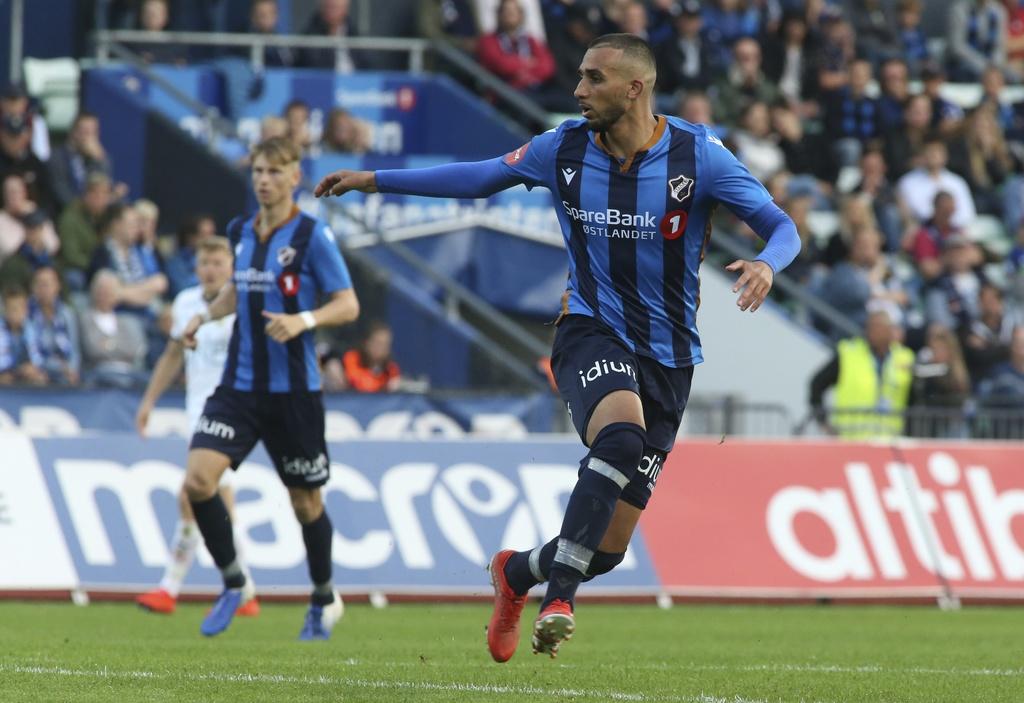 Youssef Toutouh debuterte fra start for Stabæk lørdag.
