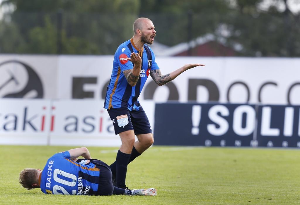 Vadim Demidov har spilt sin siste kamp som Stabæk-spiller. Lørdag har han sin siste trening som Stabæk-spiller.