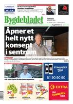 Forside Bygdebladet Randaberg og Rennesøy