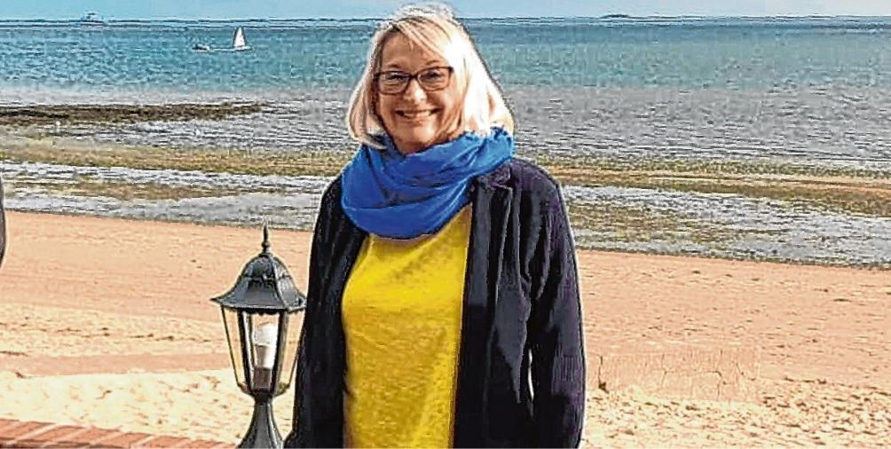 Sybille Rotermund ist Vorsitzende der Föhr-Amrumer FDP. FDP-Bezirksverband