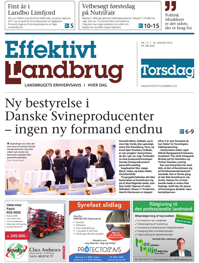 Effektivt Landbrug - 18/01 - 2018