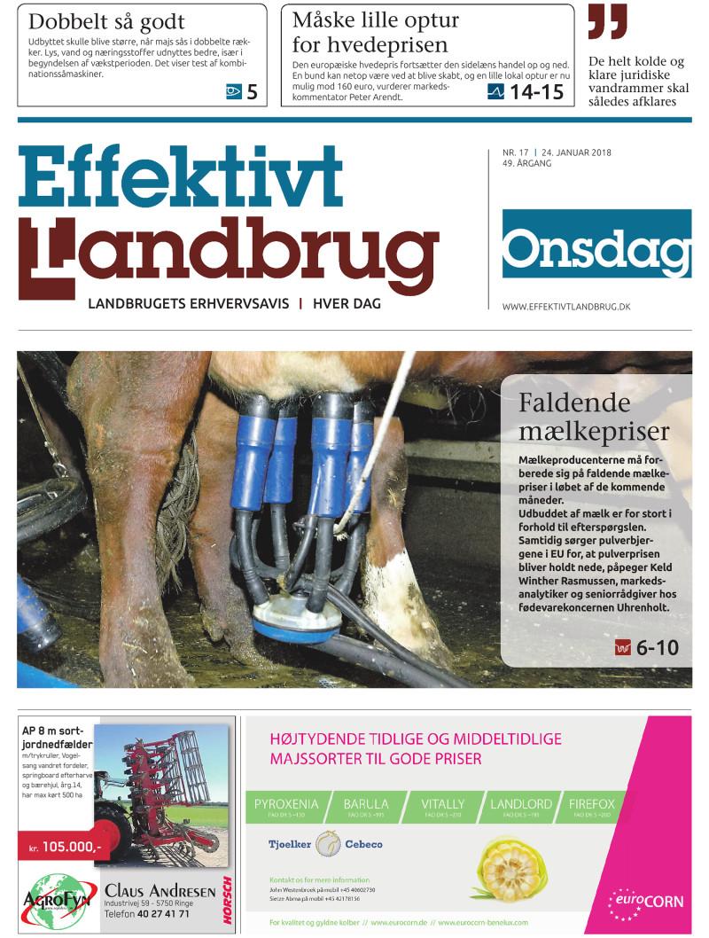 Effektivt Landbrug - 24/01 - 2018