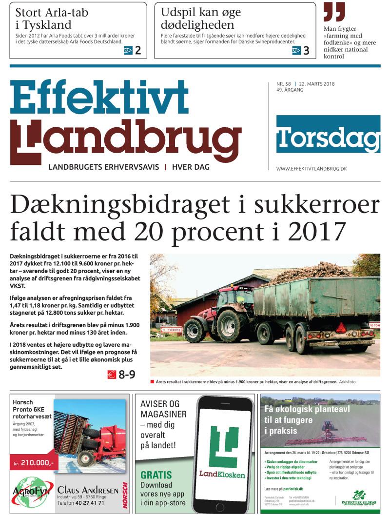 Effektivt Landbrug - 22/03 - 2018