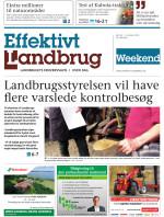 Effektivt Landbrug - 26/05 - 2018
