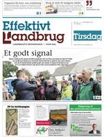 Effektivt Landbrug - 17/09 - 2019
