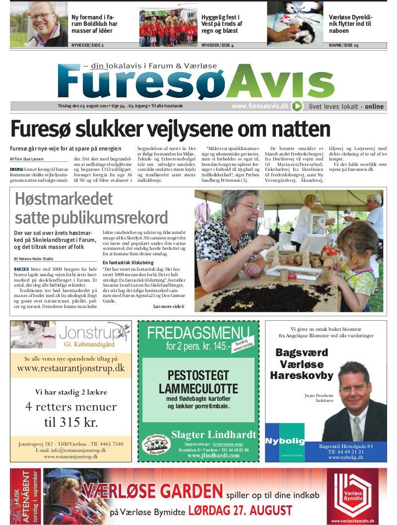 Lokalavisen.dk Farum Avis Furesø Uge 34