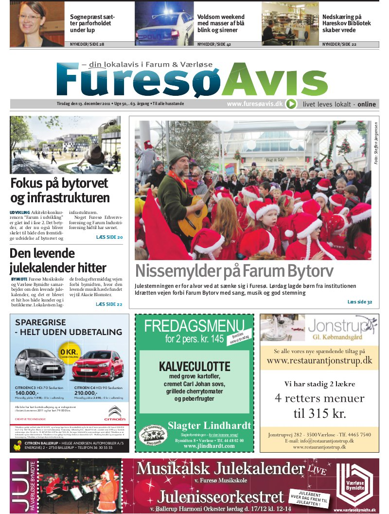 Lokalavisen.dk Farum Avis Furesø Uge 50