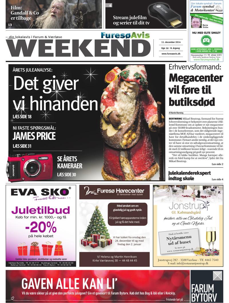 d11530c4b14 Lokalavisen.dk - Furesø Avis Weekend - Uge 50