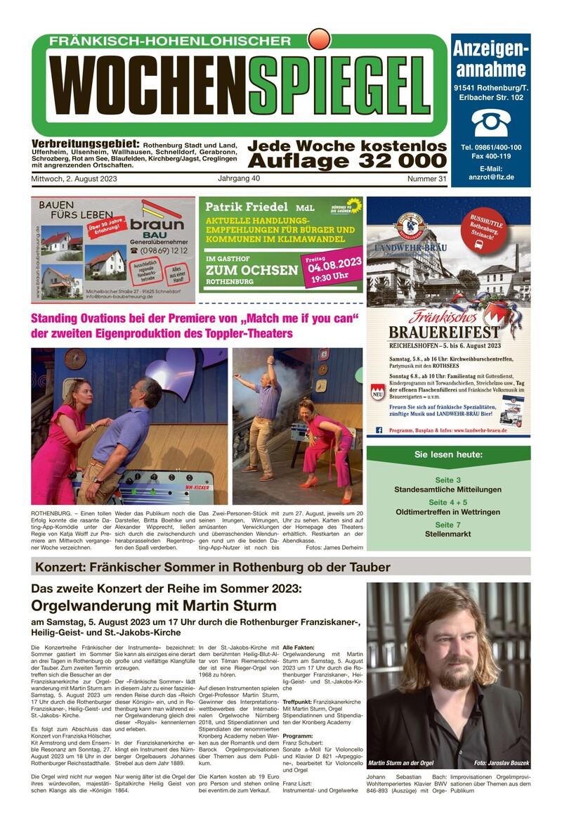 FHW | Fränkisch Hohenloher Wochenspiegel
