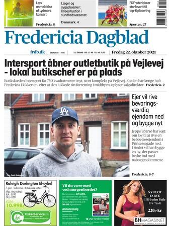 læs Fredericia Dagblad