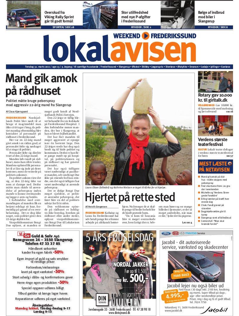 1e31ce7c Lokalavisen.dk - Frederikssundavis Weekend - Uge 13