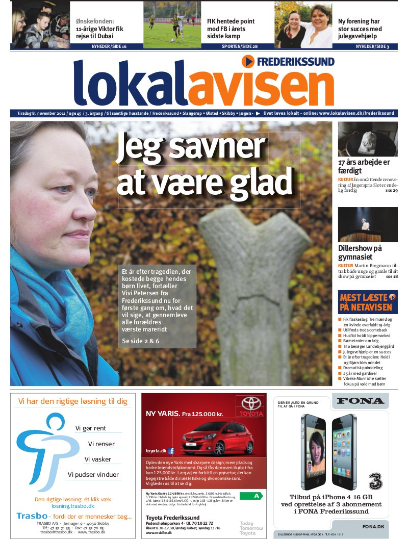 6baf8372ac9 Lokalavisen.dk - Frederikssundavis - Uge 45
