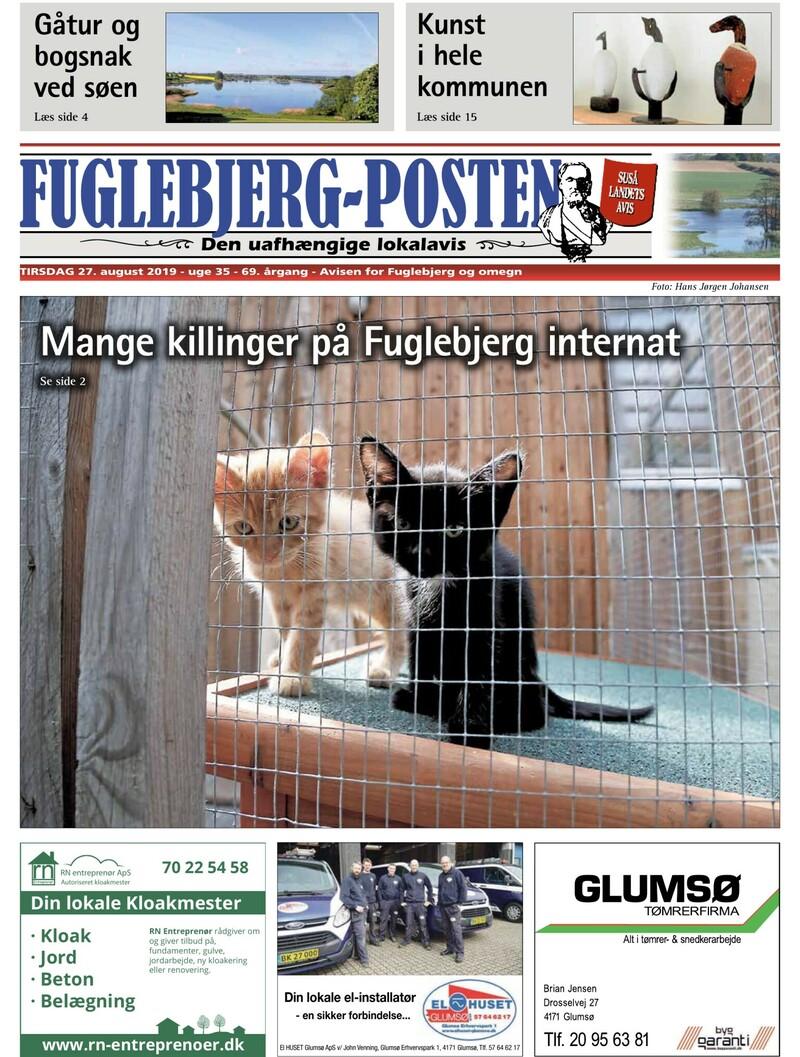 Fuglebjerg Posten 27 08 2019