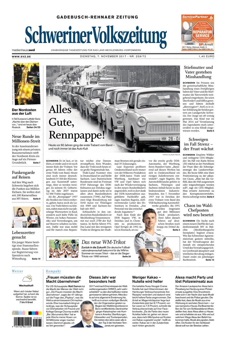 Gadebusch-Rehnaer Zeitung