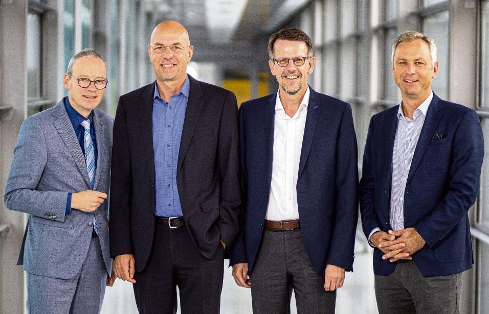 Expertenrunde (v. rechts): Matthias Boxberger, Frank Schnabel, Maik Render und Moderator Stefan Hans Kläsener.Marcus Dewanger