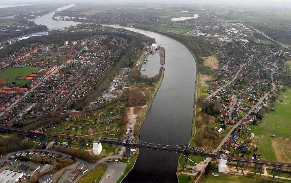 Der Nord-Ostsee-Kanal soll für zwei Milliarden Euro ausgebaut werden. Carsten Rehder/dpa