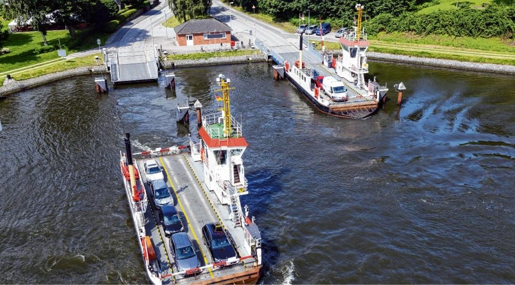 Momentan werden die Fähranleger am Nord-Ostsee-Kanal geprüft. Einige von ihnen weisen große Schäden auf. AdobeStock