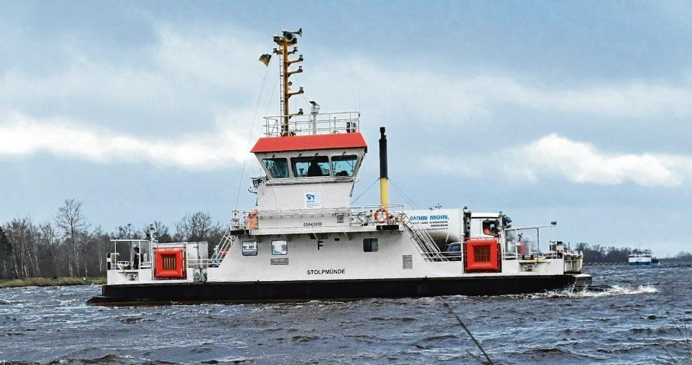 Ein erhöhter Wasserstand im Kanal kann zu Problemen im Fährverkehr führen. Matthias Hermann